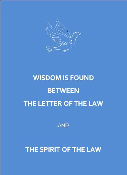 wisdom white dove